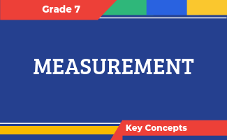 Grade 7 Key Concepts: Measurement