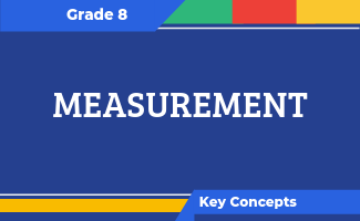 Grade 8 Key Concepts: Measurement